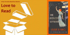My Chronicle Book Box The Beekeeper's Apprentice by Laurie R. King banner