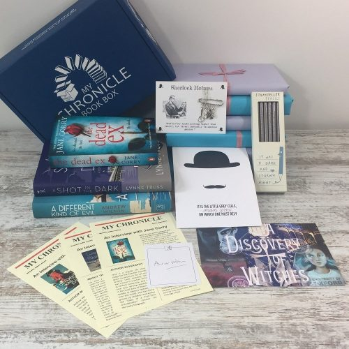 Book Subscription Box Crime and Mystery - August 18