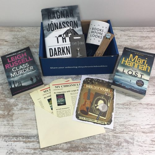 Book Subscription Box Crime and Mystery - May 18
