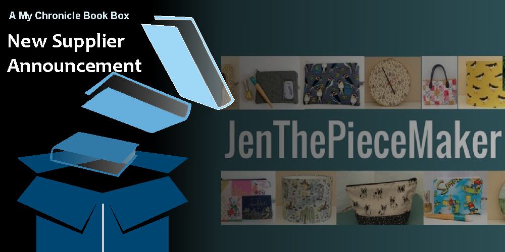 My Chronicle Book Box Supplier Announcement - JenThePieceMaker Banner