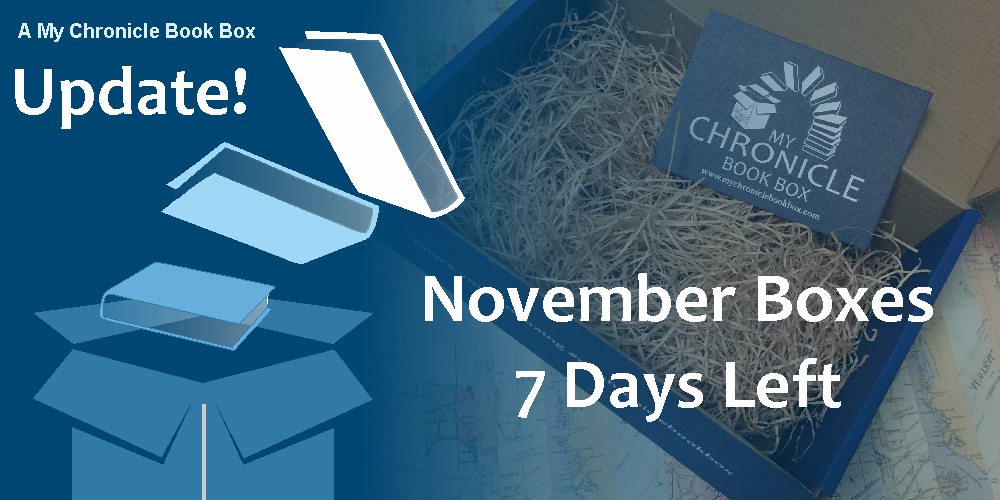 My Chronicle Book Box November 2017 - 7 days left banner