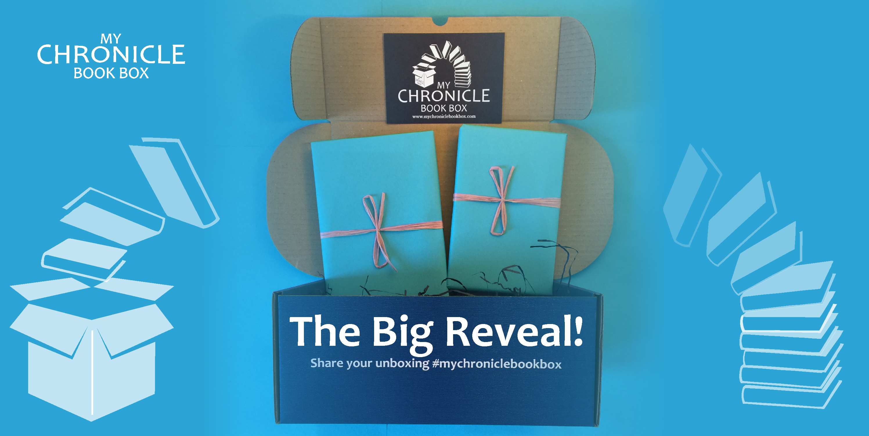 My Chronicle Book Box The Big Reveal! November 2017 Boxes Banner