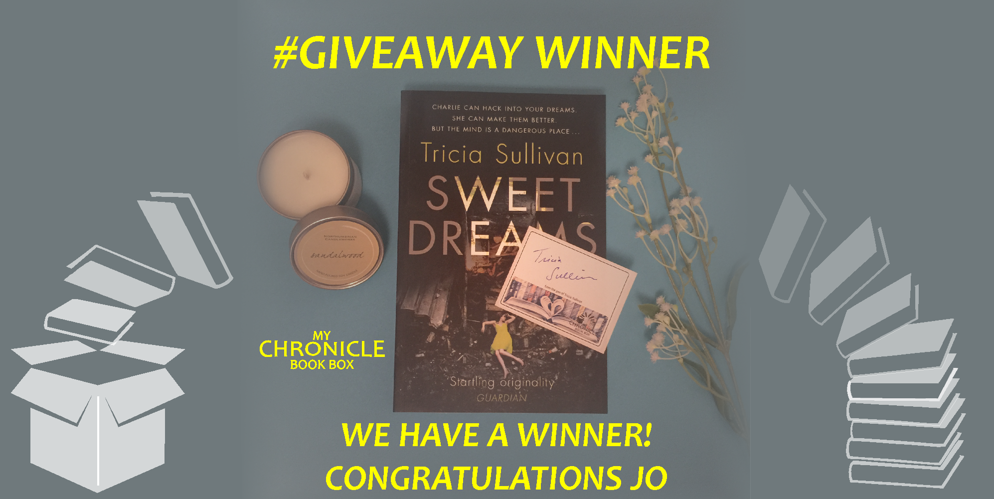 Winner Sweet Dreams by Tricia Sullivan giveaway