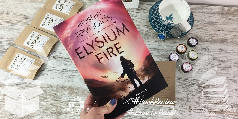 Elysium Fire by Alastair Reynolds banner