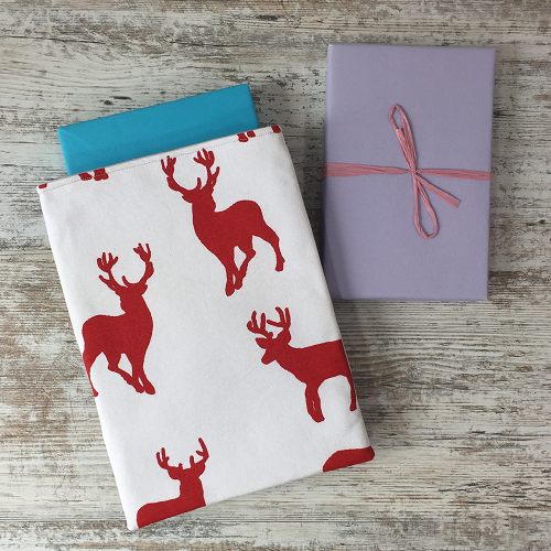 6 Stag wrapped books
