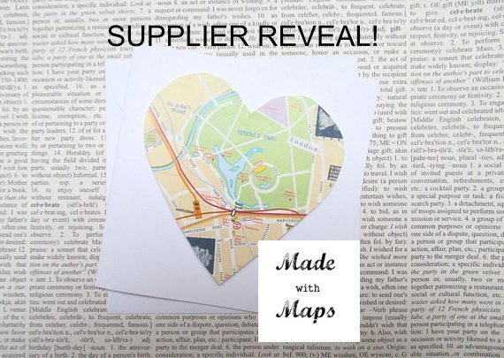 Made with Maps supplier reveal