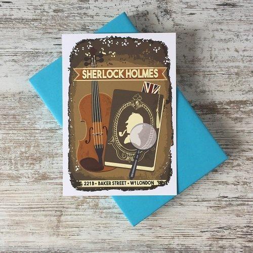 Sherlock print