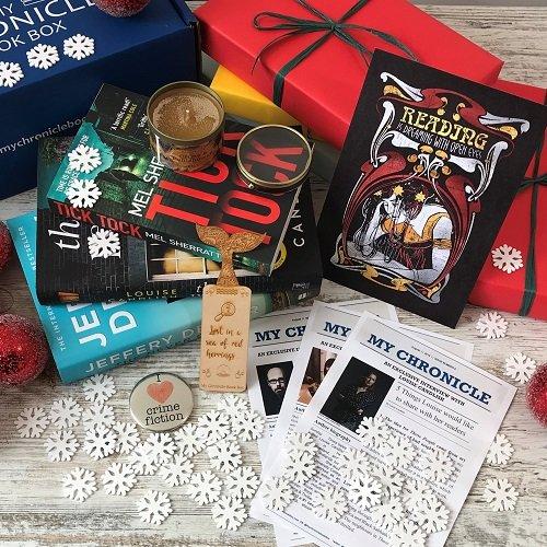 Festive Crime book box