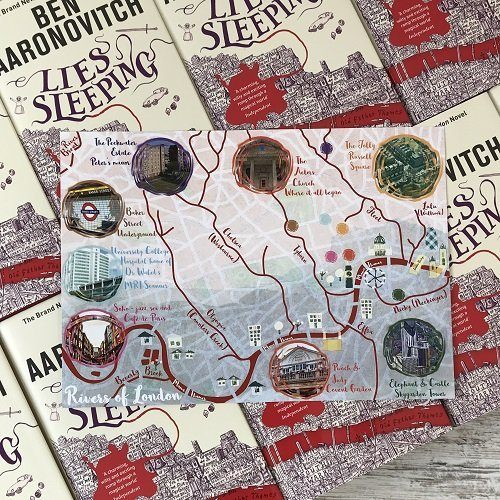 Rivers of London - Book box special - Lies Sleeping - Ben Aaronovitch special product image 4
