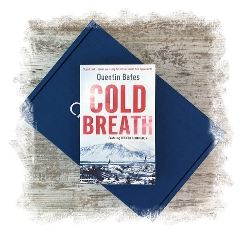 Book Subscription Box - Crime Mystery - November 2018 - Cold Breath by Quentin Bates