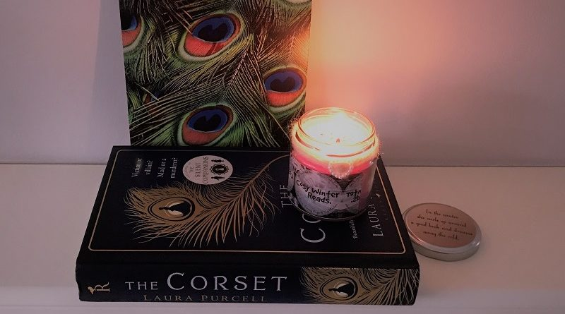 Book Subscription Box - Crime Mystery - November 2018 - The Corset - bookish candle