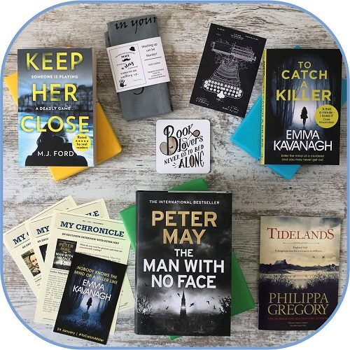 My Chronicle Book Box May 2019 Crime and Mystery Box Product