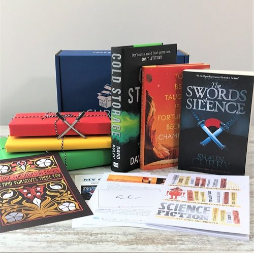 Science Fiction & Fantasy book subscription box - November 2019 - square