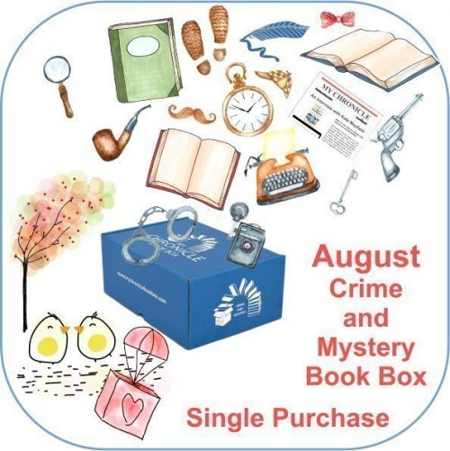 August Single purchase Book Box Crime and Mystery