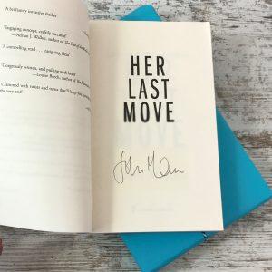Book Subscription Box - Crime Mystery - February 2019 - John Marrs signature