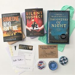 Crime & mystery book box May 2021