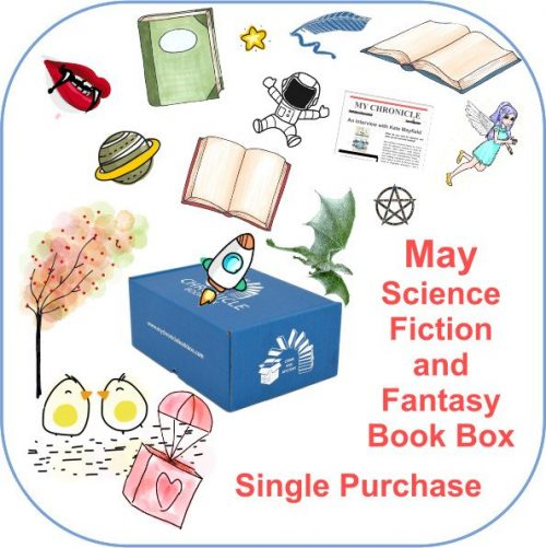 May Single purchase Book Box Science Fiction and Fantasy button