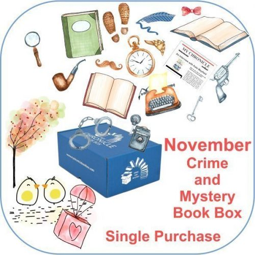 November Single purchase Book Box Crime and Mystery