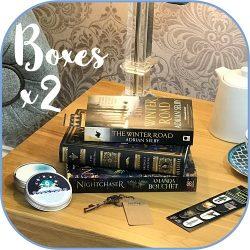 Science Fiction Fantasy - subscription book box Product - 2 box sq