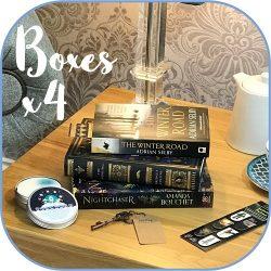 Science Fiction Fantasy - subscription book box Product - 4 box sq