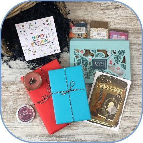 Birthday Gift Book, Chocolate and Candle Box MCBB Product