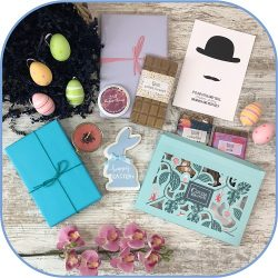 Easter Gift Book, Chocolate and Candle Box MCBB Product
