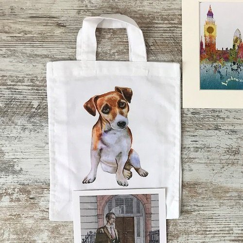 Rivers of London Toby inspired tote bag