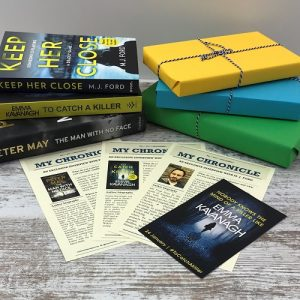 My Chronicle Book Box May 2019 Crime and Mystery Box - Author Interviews