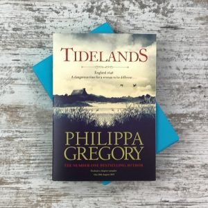 My Chronicle Book Box May 2019 Crime and Mystery Box - Chapter sampler from the brilliant Philippa Gregory's new book Tidelands