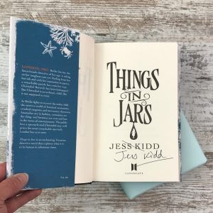My Chronicle Book Box May 2019 Science Fiction and Fantasy Box - Things in Jars by Jess Kidd (2)