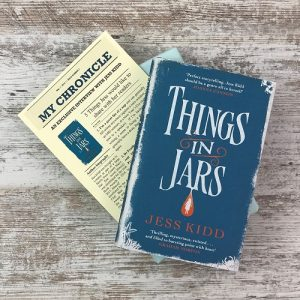 My Chronicle Book Box May 2019 Science Fiction and Fantasy Box - Things in Jars by Jess Kidd (3)