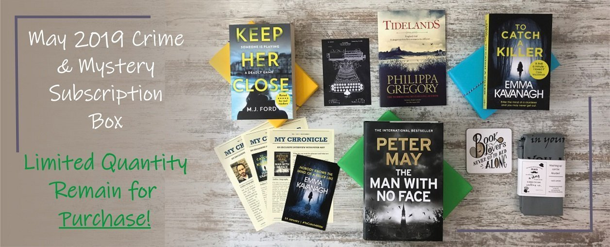 My Chronicle Book Box May 2019 Crime and Mystery Box Product Banner