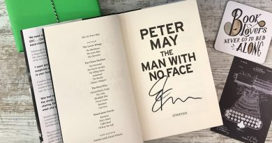 Signed The Man With No Face by Peter May