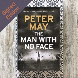 The Man with no Face - Peter May - signed edition