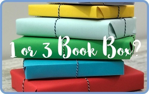 How it works - 2 - choose 1 or 3 book box - Choosing the Best Book Subscription