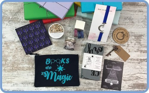 Book Subscription box What to Expect in Your Book Gift Box - Bookish Treats 3
