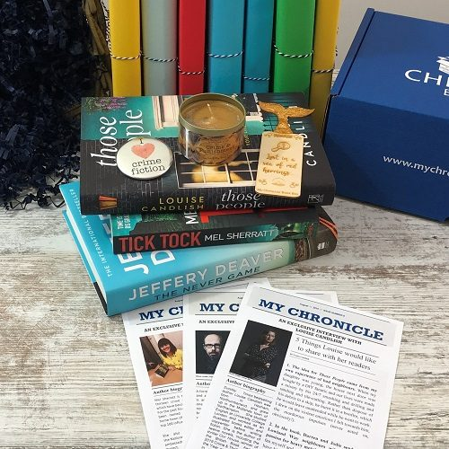 Crime and mystery - August 2019 - book subscription box - square