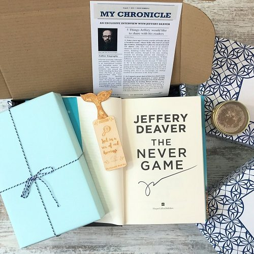 Crime subscription box - The Never Game - Jeffery Deaver (3) square