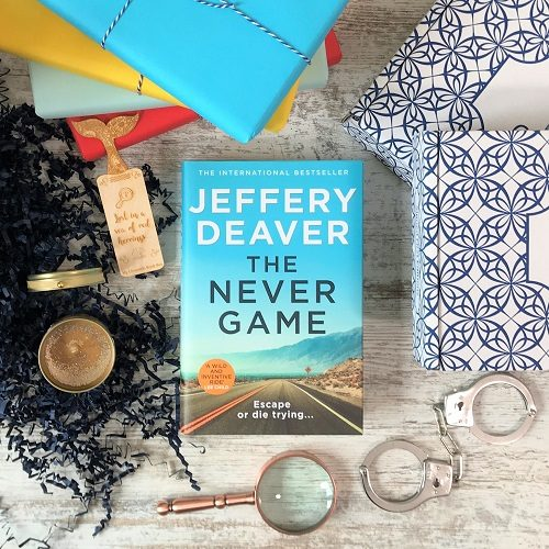 Crime subscription box - The Never Game - Jeffery Deaver (5)