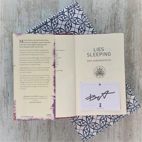 Lies Sleeping by Ben Aaronovitch inside 2