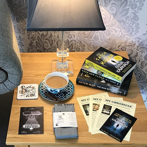 My Chronicle Book Box May 2019 Crime and Mystery Box