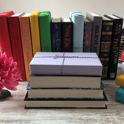 SFF - August 2019 book teaser - rainbow book background