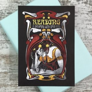 Crime & mystery book subscription box - November 2019 - A5 print by HappyIfItRains