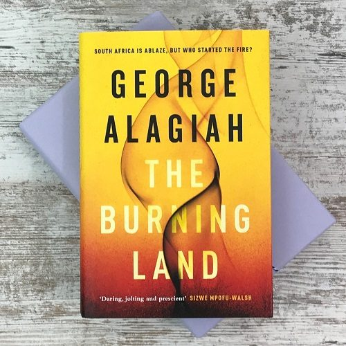 Crime & mystery book subscription box - November 2019 - The Burning Land - George Alagiah