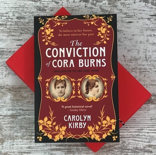 Crime & mystery book subscription box - November 2019 - The Conviction of Cora Burns - Carolyn Kirby