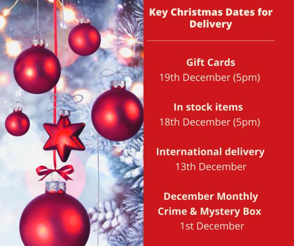 Key Christmas Dates!