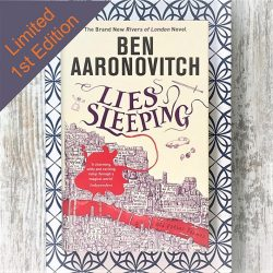 Lies Sleeping by Ben Aaronovitch - corner