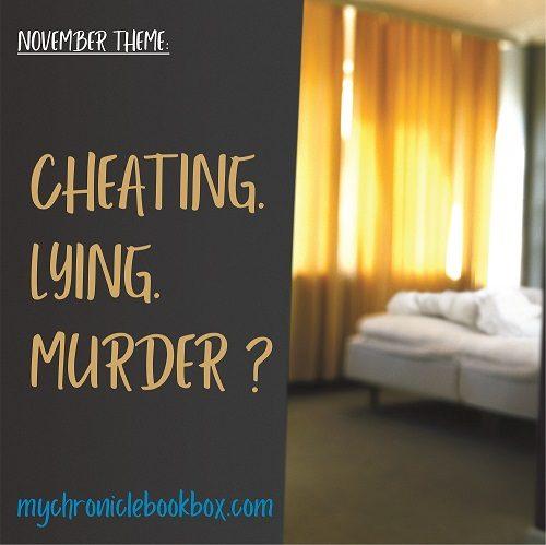 November crime & mystery theme