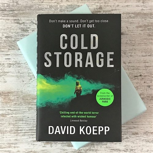 Science Fiction & Fantasy book subscription box - November 2019 - Cold Storage - David Koepp