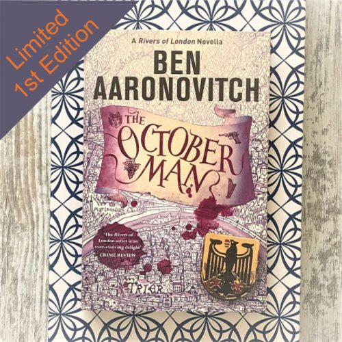 The October Man by Ben Aaronovitch corner